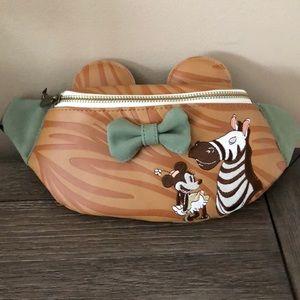 Disney Loungefly Minnie Ears safari fanny pack